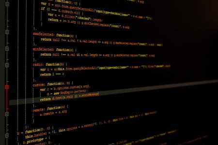 业务, 特写, 代码, 编码, 计算机, 黑暗, 数据