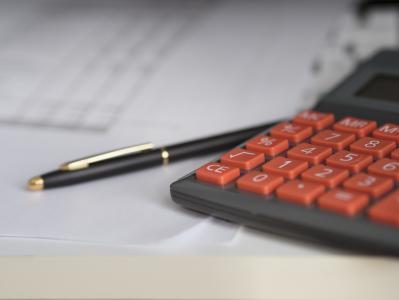 业务, 计算器, 计算, 保险, 财务, 会计, 钢笔