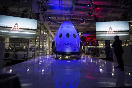 航天器, spacex 公司, 宇宙飞船, 空间模块, 胶囊, 科学, 技术