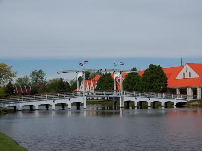 荷兰语, 荷兰, 荷兰, 水, 桥梁, 建筑, 建筑设计