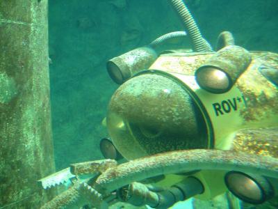 跳水, 水下, 潜艇, 潜水员, 潜水机器人, 水肺潜水