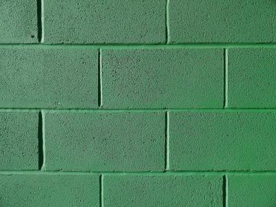 墙上, 砖, 绿色, 背景, 纹理, 建设, 砖砌体